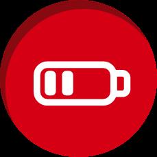 Ícone Mantenha a bateria em dia   TYLENOL®