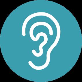 Ícone Infecções no ouvido | TYLENOL®