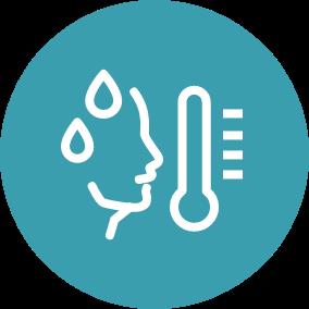 Ícone Qual a diferença entre febre e hipertermia? | TYLENOL®