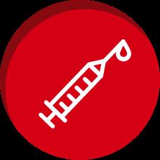 Ícone Vacinas de rotina | TYLENOL®