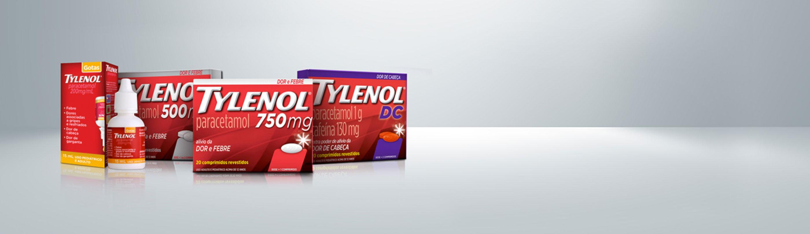 Sua segurança em 1º lugar no alívio da dor e da febre |TYLENOL®