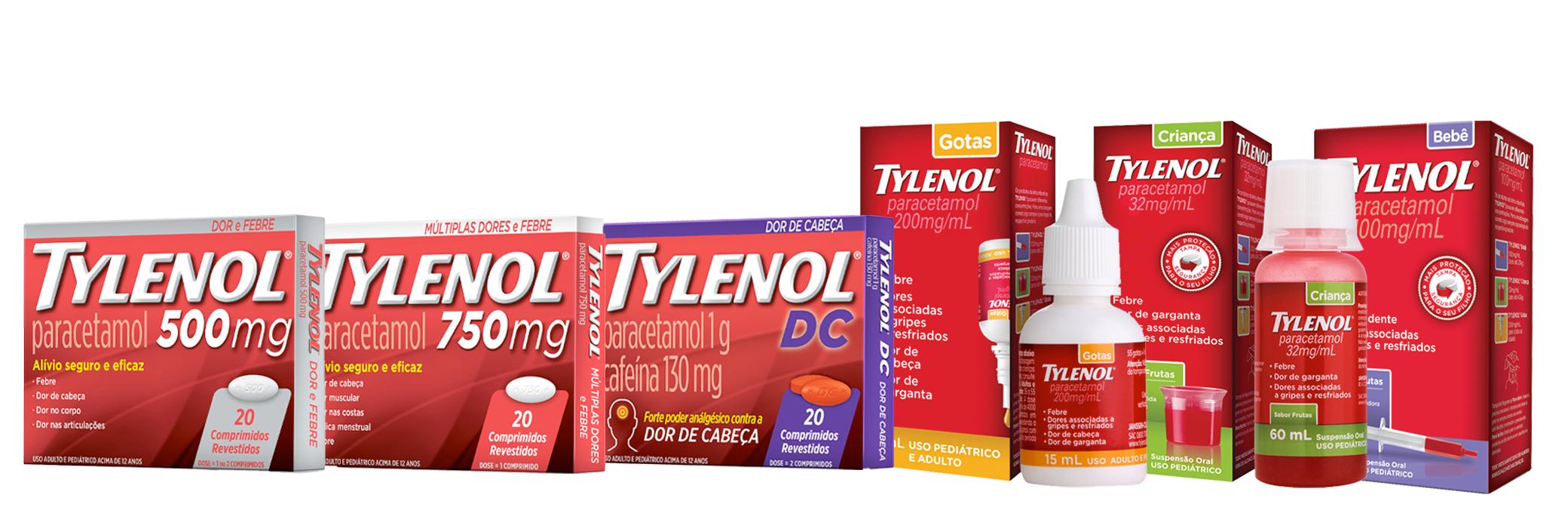 Produtos | TYLENOL®