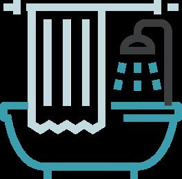 Ícone de banheiro | TYLENOL®