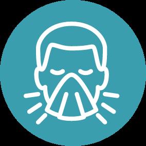 Ícone Diferença entre gripes e resfriados | TYLENOL®