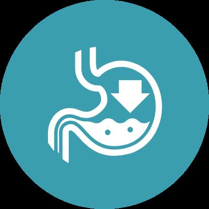 Ícone Refluxo gastroesofágico nos bebês| TYLENOL®